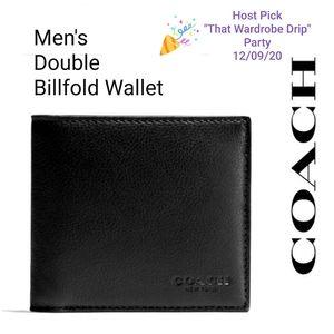 🆕️💯 Authentic Coach Men's Wallet Billfold F75084